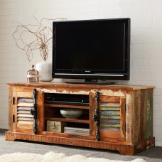 Coastal Reclaimed Industrial TV Unit
