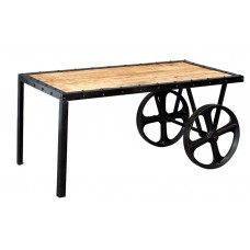 Cosmo Cart Industrial Coffee Table