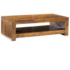Cube Sheesham Industrial Table