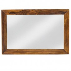 Cube Sheesham Industrial Mirror