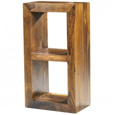 Cube Sheesham Industrial 2 Hole Shelf