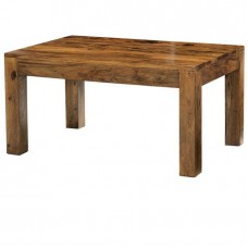 Cube Sheesham Industrial Coffee Table