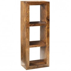 Cube Sheesham Industrial 3 Hole Shelf