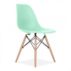 Eames Inspired DSW Dining Chair in Aqua Sky