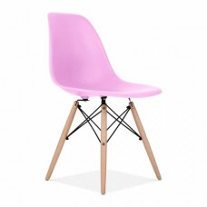 Eames Inspired DSW Dining Chair in Lilac