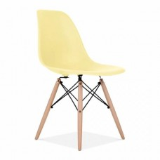 Eames Inspired DSW Dining Chair in Lemon