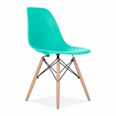 Eames Inspired DSW Dining Chair in Turquoise