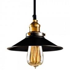 Edison Black Metal Light