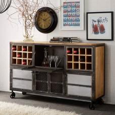 Evoke Industrial Bar Cabinet