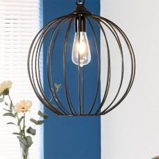 Industrial Style Iron Sphere Cage Lamp