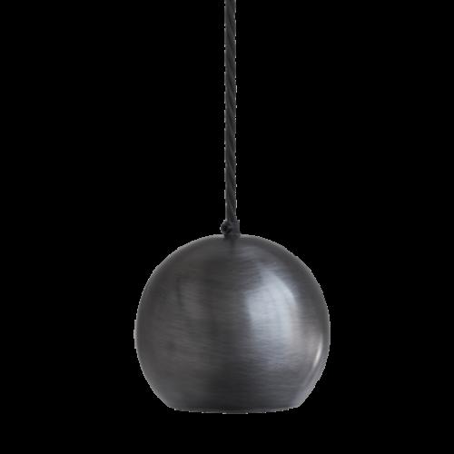 Globe Single Pendant Ceiling Light - Pewter
