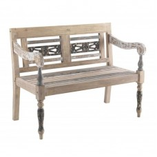 Piccadilly Industrial Style Wood Bench