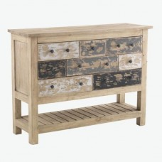 Piccadilly Industrial Style Wood Console Table