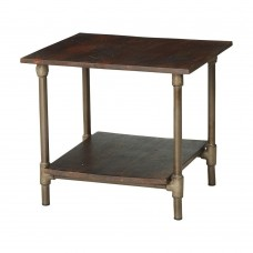 Santara Industrial Square Table