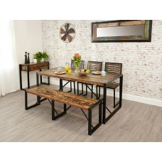 Urban Chic Industrial Dining Table